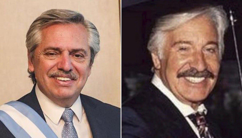 Quiso homenajear a Alberto, pero su tatuaje se volvió viral por el parecido a Roberto Galán