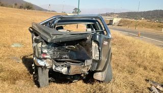 Terrible accidente en la ruta 9, a pocos metros del expeaje Aunor