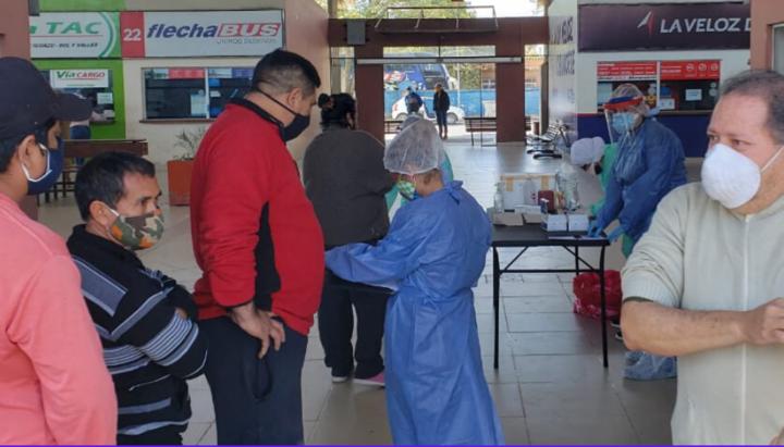 Coroanvirus: Orán comenzó con los testeos rápidos