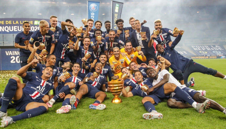 El PSG ganó la Copa de la Liga de Francia con Di María, Icardi y ...