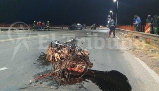 Un automóvil chocó contra un puente en el acceso a Metán: hay tres heridos