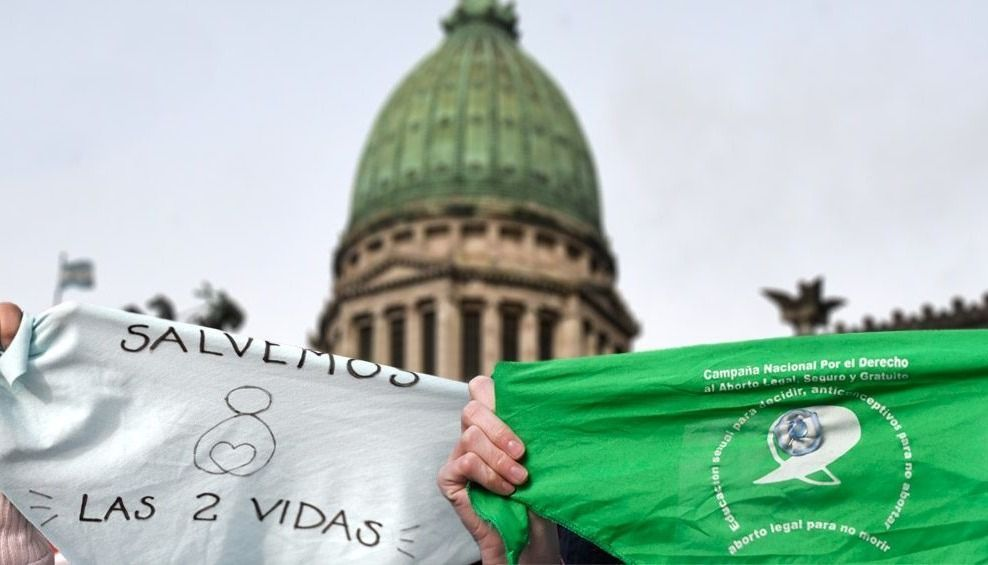 Histórica votación: habrá vigilias, misas y pañuelazos en Salta  de los grupos a favor y en contra de la legalización del aborto