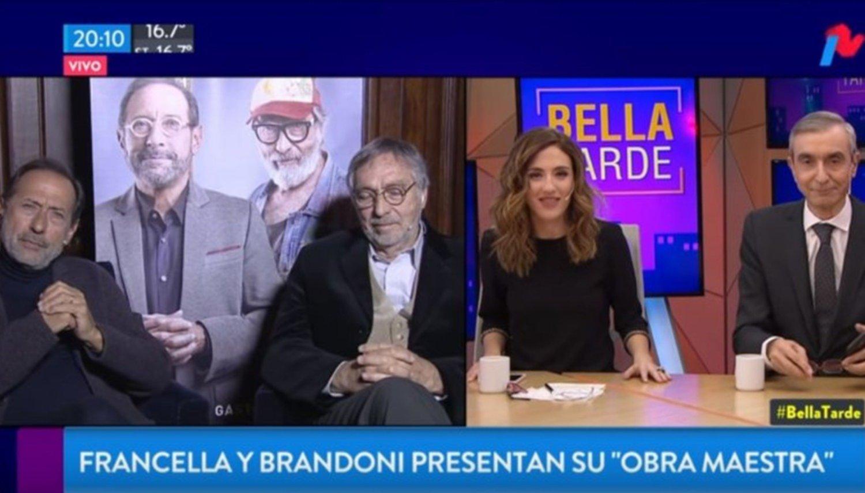 Francella se le plantó a Nelson Castro: