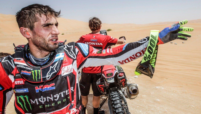 Kevin Benavides vuelve a la acción en el Atacama Rally