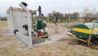 Avanza la construcción de 3 pozos de agua para mejorar la provisión