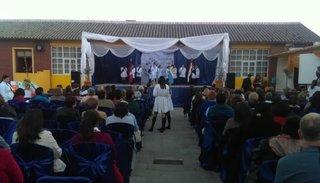 Festejaron las bodas de brillantes de la escuela Marco Avellaneda