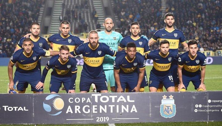 """Alfaro """"retó"""" al plantel tras la eliminación de la Copa Argentina"""