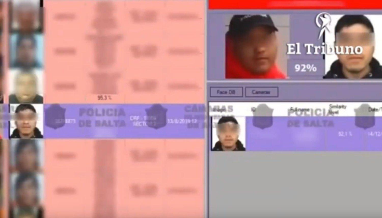 Un peligroso delincuente con pedido de captura fue detenido por reconocimiento facial