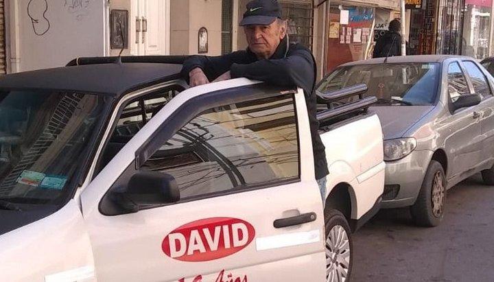 David convoca a los peregrinos
