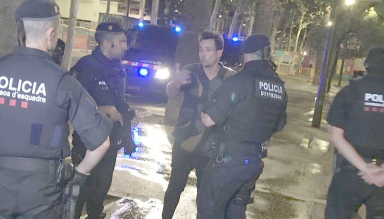 Chano fue asaltado en Barcelona cuando grababa un videoclip