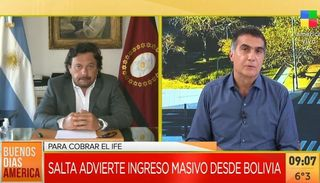 """Gustavo Sáenz: """"Unas 5.000 personas que no residen en el país cobran beneficios"""""""
