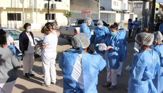 Inician operativo de mitigación en Villa Saavedra de Tartagal