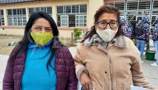 Conflicto en la escuela Galileo Galilei: dos personas se encadenaron en una escuela