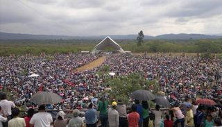 Misas y horarios de las peregrinaciones al Santuario de Río Blanco