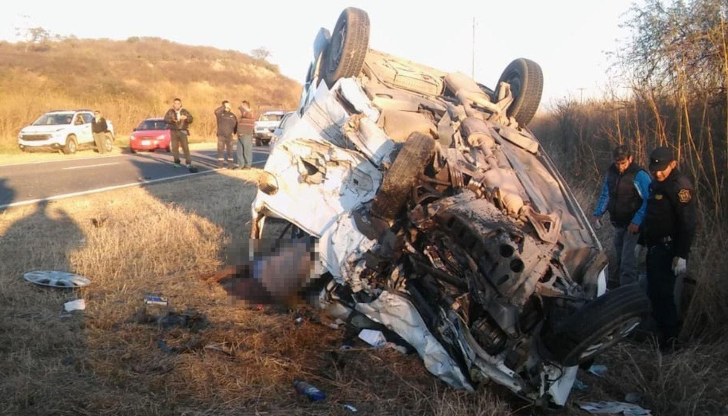 Trágico choque en la Ruta Nacional 16: Fallecieron 8 personas, 5 de ellos policías salteños