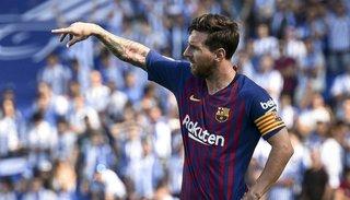 Champions: Con tres goles de Messi,  Barcelona goleó 4 a 0 al PSV