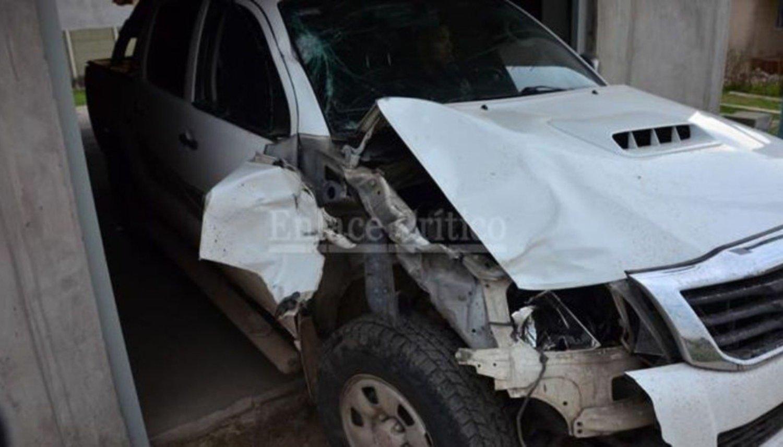 Mató a un ciclista con su camioneta y huyó — Conmoción en Zárate