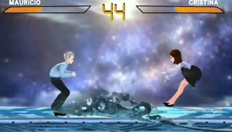 En las redes apareció el videojuego de Macri y Cristina - Actualidad