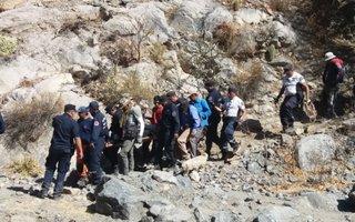 Operativo de rescate en Cafayate