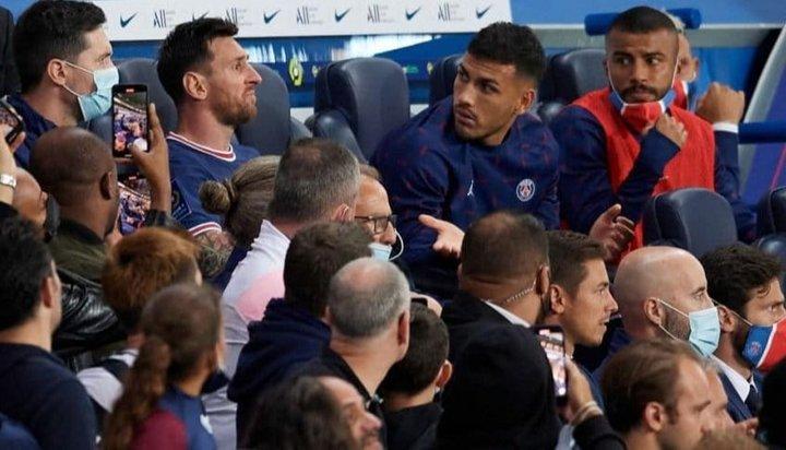 Pochettino explicó por qué cambió a Messi y reveló qué le dijo cuando salió