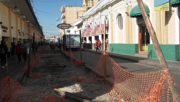 Arrancan las obras de puesta en valor en calle Ituzaingó