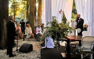 Abel Pintos celebró su boda en un entorno de ensueño