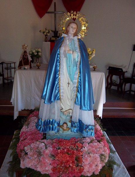 Hoy celebran 50 años desde la llegada de la Virgen