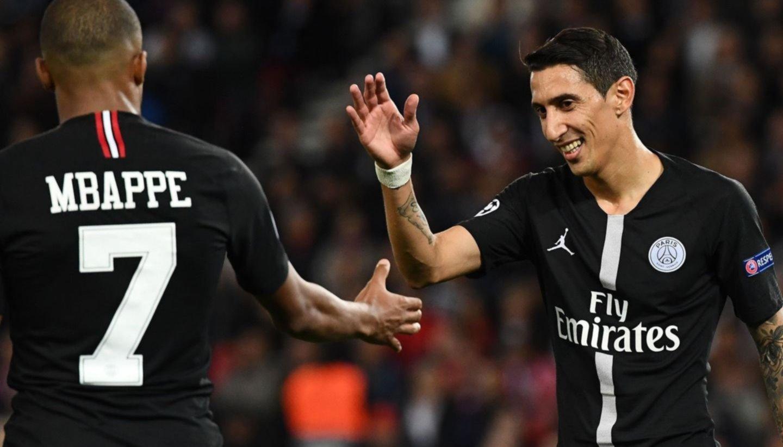 Goleada del PSG en Champions League con triplete de Neymar