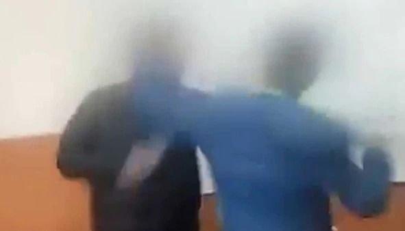 Un alumno golpeó a su profesor porque le sacó el celular