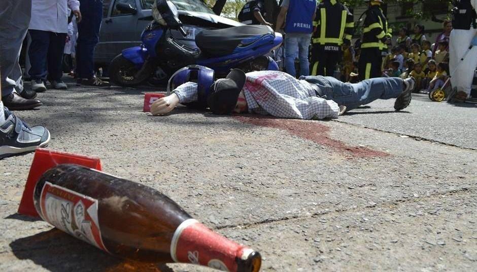 """Abuso del alcohol: Inician una campaña  """"de alto impacto"""""""