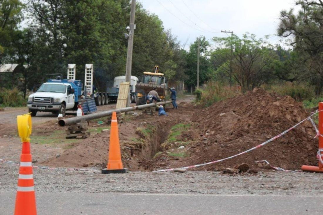 La obra más esperada en finca El Mollar: ya tienen agua potable
