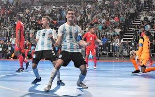 7e057344e839b El seleccionado de futsal goleó a Panamá y va por Brasil en la semifinal