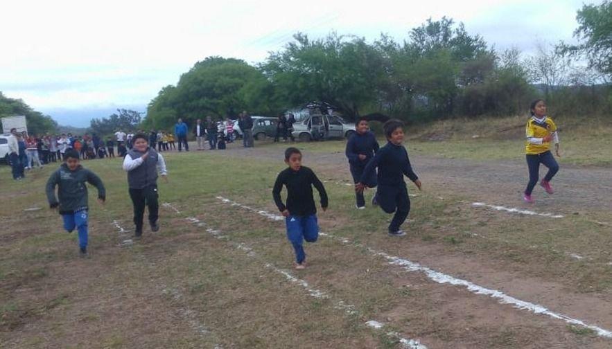 Encuentro de atletismo rural