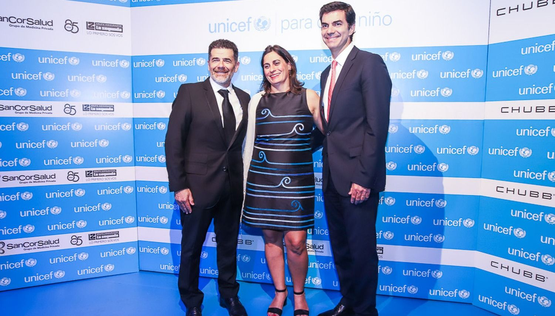 El gobernador Juan Manuel Urtubey participó en la cena anual de Unicef