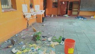 Vándalos robaron en la escuela del Programa Alimentario