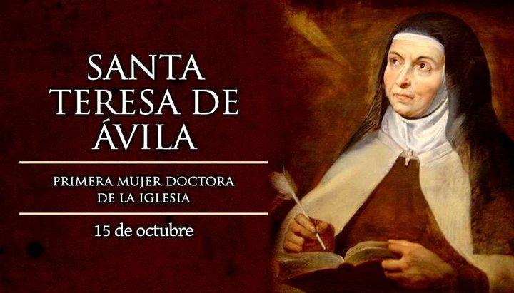 Hoy es el Día de Santa Teresa de Jesús, fundadora de las Carmelitas Descalzas
