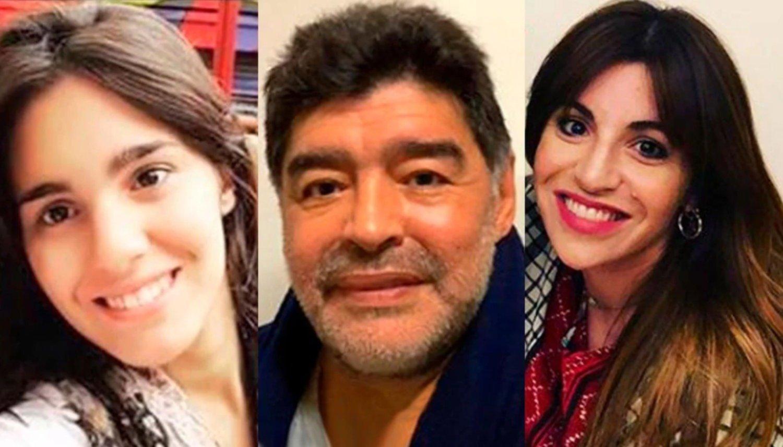 La supuesta hija de Diego Maradona sorprendió por su parecido con Gianinna