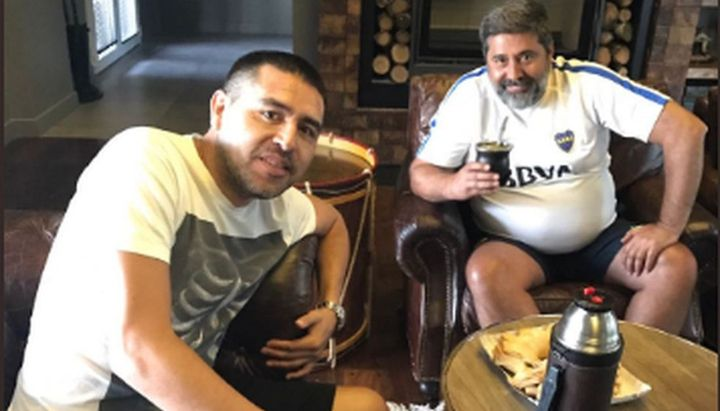 Angelici quiere que Riquelme sea vicepresidente de Boca