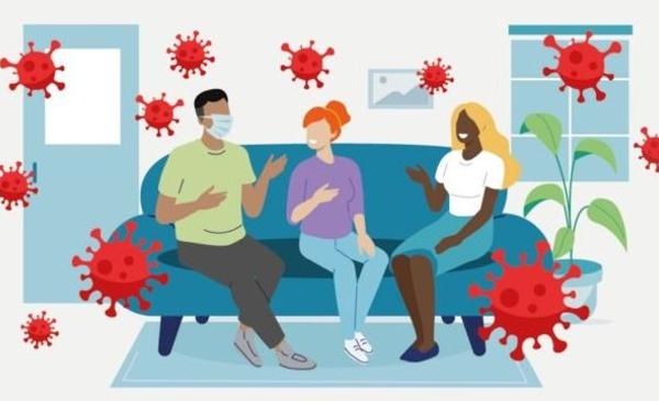 Covid 19: ¿Conocés los riesgos de contagio durante una reunión social?