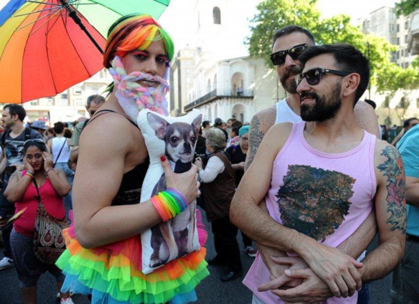 Marcha del Orgullo Gay en Buenos Aires