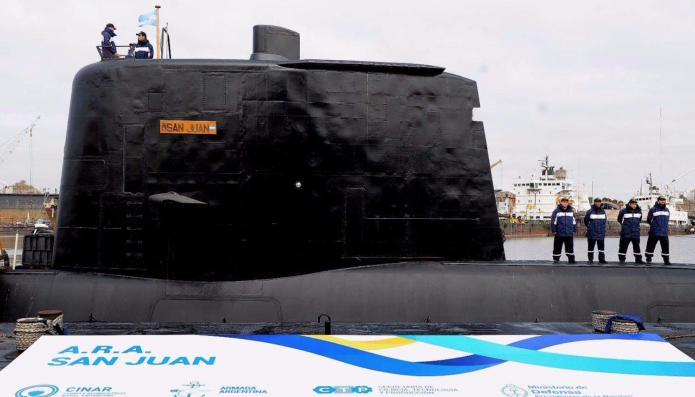 La Armada recibió hoy siete intentos de comunicación que serían del submarino ARA San Juan