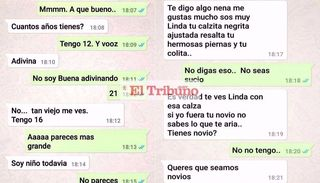 Terrible: acosaba a una niña de 12 años por WhatsApp en La Quiaca