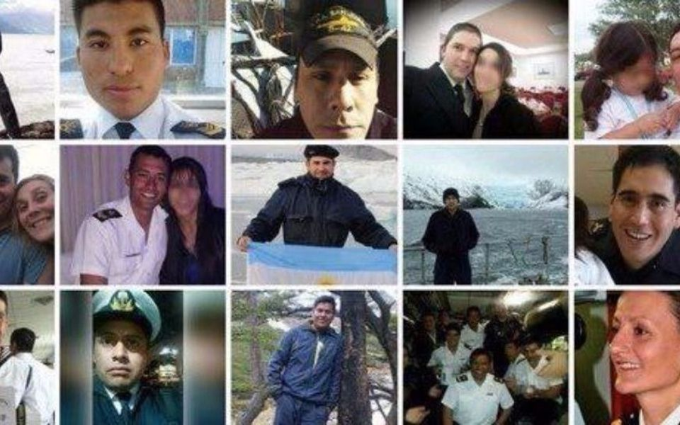 Ellos son los 44 tripulantes del submarino ARA San Juan, entre los cuales hay siete salteños