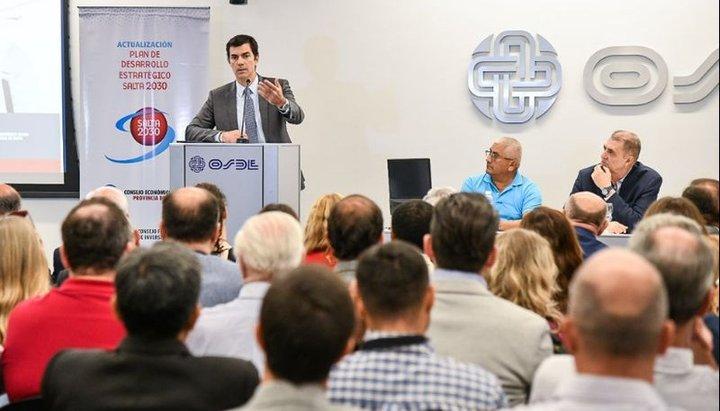 """Urtubey presentó el """"Plan de Desarrollo Estratégico_Salta 2030"""""""