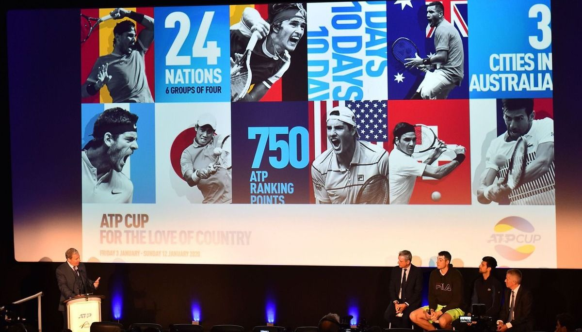 Argentina no pudo con Rusia y le dijo adiós a la ATP Cup