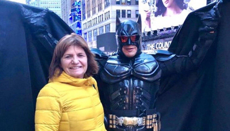 Angelici se encontró con Batman en New York