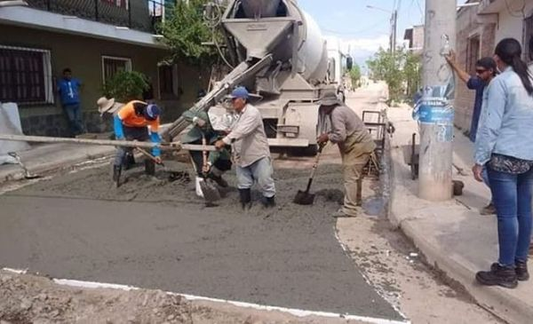 Pavimentan Bº San Cayetano y construirán un colegio secundario en San Agustín - El Tribuno.com.ar