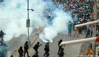 El embajador argentino en Bolivia recomienda no viajar a ese país por los conflictos sociales