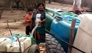 Preocupación en Misión Chaqueña: juntan agua en tachos que tuvieron veneno