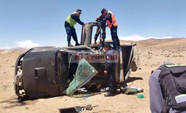 Siniestro vial fatal en el paraje Bella Vista de Yavi - El Tribuno.com.ar